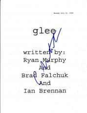 Cory Monteith Signed Fox Glee Full 62 Page Pilot Episode Authenitc Autograph Coa