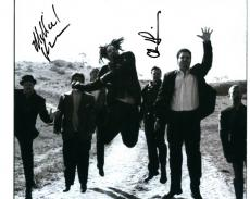 Counting Crows X2 Autographed 8x10 Photo UACC RD Coa AFTAL