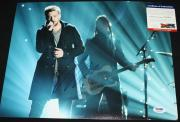 COUNTRY Charles Kelley signed 11 x 14, Lady Antebellum, Need You Now, PSA/DNA