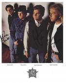 """Country Music Group """"LONE STAR"""" Signed by RICHIE MCDONALD, KEECH RAINWATER, MICHAEL BRITT, and and DEAN SAMS - Hits Include """"NO NEWS"""", """"COME CRYIN to ME"""" and """"WHAT ABOUT NOW"""" Signed 8x10 Color Photo"""