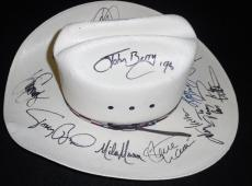 Country Music Legends Signed Cowboy Hat Tim McGraw Mindy McCready Toby Keith +11