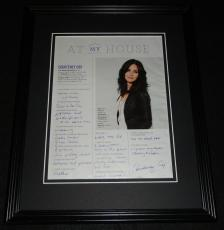 Courteney Cox Facsimile Signed Framed 11x14 Photo Display Friends Cougar Town