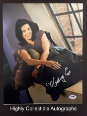 Courteney Cox Signed 11x14 Photo Autograph Psa Dna Coa Friends