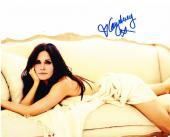 Courteney Cox Signed 8x10 Photo Authentic Autograph Friends Cougar Town Coa E