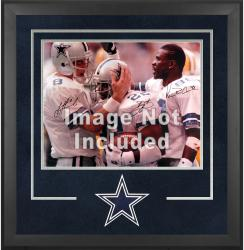 Dallas Cowboys Deluxe 16'' x 20'' Horizontal Photograph Frame with Team Logo - Mounted Memories
