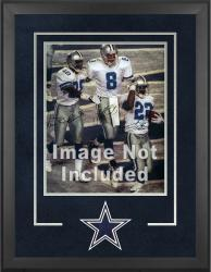 Dallas Cowboys Deluxe 16'' x 20'' Vertical Photograph Frame with Team Logo - Mounted Memories