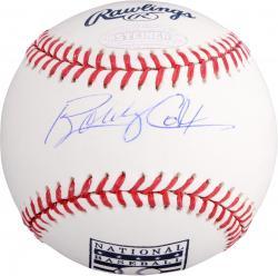 Bobby Cox Atlanta Braves Autographed HOF Logo Baseball