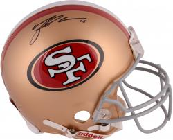Michael Crabtree San Francisco 49ers Autographed Riddell Pro-Line Authentic Helmet
