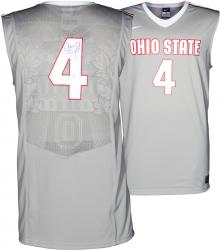 Aaron Craft Ohio State Buckeyes Autographed Replica Silver Jersey - Mounted Memories  - Mounted Memories
