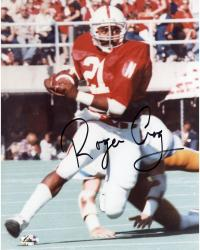 Fanatics Authentic Autographed Roger Craig Nebraska Cornhuskers 8'' x 10'' Escaping Defender Photograph