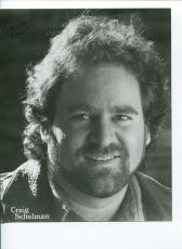 Craig Schulman Phantom of the Opera Les Miserables Signed Autograph Photo