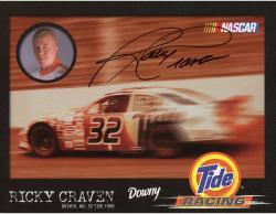 Rickey Craven Autographed 8x10 Photo