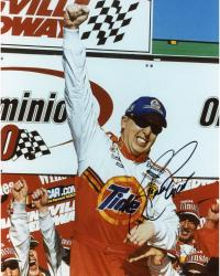 Ricky Craven Autographed 8'' x 10'' Tide One Hand Up Photograph