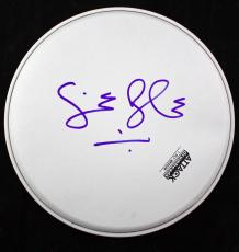 "Cream Ginger Baker Signed Autographed 10"" Drum Head JSA"