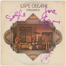 Cream Group Signed Autographed Album LP Clapton Bruce Baker PSA/DNA Epperson