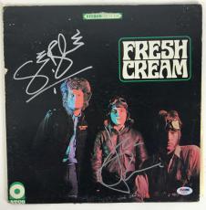 Cream Signed Autographed Fresh Cream Album LP Baker Bruce PSA/DNA