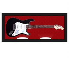 Creed Autographed Signed Guitar & Custom Display Case UACC RD AFTAL AFTAL