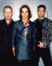 Creed Group Signed 8x10 Photo w/COA Creed My Own Prison Stapp, Tremonti #1