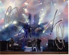 Creed Group Signed 8x10 Photo w/COA Creed My Own Prison Stapp, Tremonti #4
