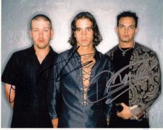 Creed Group Signed 8x10 Photo w/COA Creed My Own Prison Stapp, Tremonti #5