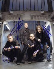 Creed Group Signed 8x10 Photo w/COA Creed My Own Prison Stapp, Tremonti