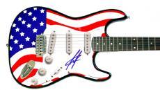 Creed Scott Stapp Autographed Signed Guitar & PSA & UACC RD AFTA AFTAL