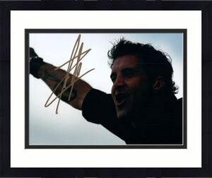 Creed Scott Stapp Live Concert Autographed Signed Photo AFTAL UACC RD