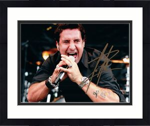 Creed Scott Stapp Signed Autographed Live Photo UACC RD RACC TS