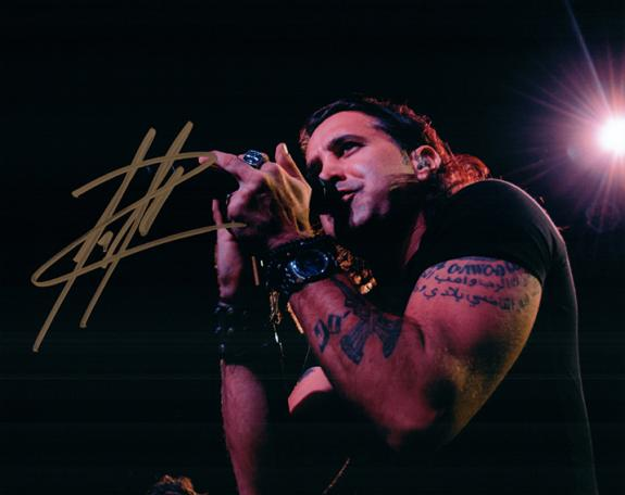 Creed Scott Stapp Signed Autographed Professional Live Photo