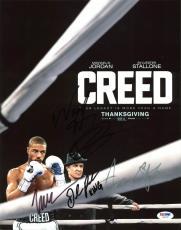 Creed (Wood Harris, Gabe Rosado, +3) Signed 11X14 Photo PSA #AB10797