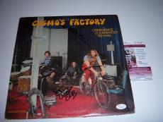 Creedence Clearwater Revival Stu Cook,doug Clifford Jsa Signed Lp Record Album