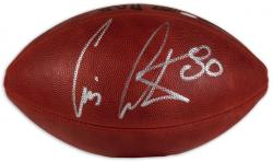 Cris Carter Autographed Football - Mounted Memories