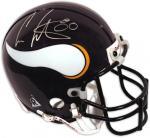 Cris Carter Signed Mini Helmet