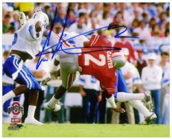 "Cris Carter Ohio State Buckeyes Autographed 8"" x 10"" Photograph"