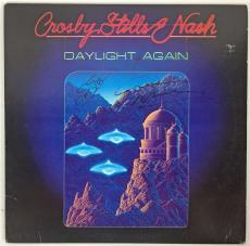 Crosby Stills & Nash Steven Stills Graham Nash Signed Autographed Album JSA