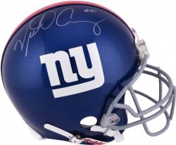 Victor Cruz New York Giants Autographed Riddell Pro-Line Authentic Helmet - Mounted Memories