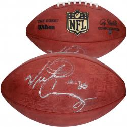 Wilson Victor Cruz New York Giants Autographed Authentic Game Football