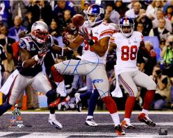 "Victor Cruz New York Giants Super Bowl XLVI Champions Autographed 16"" x 20"" Touchdown Photograph"