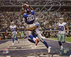 "Victor Cruz New York Giants Autographed 8"" x 10"" vs. Dallas Cowboys Photograph"