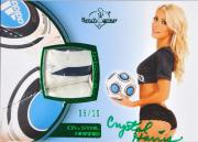 Crystal Harris Autographed Soccer Card