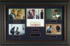 CSI: Miami David Caruso Autographed Display