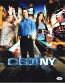 CSI NY Cast Sinise & Ward Autographed Signed 11x14 Photo Authentic PSA/DNA COA
