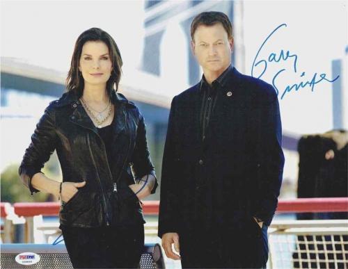 CSI NY Cast Sinise & Ward Autographed Signed 8x10 Photo Certified PSA/DNA COA
