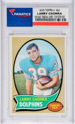 CSONKA, LARRY (1970 TOPPS # 162) CARD - Mounted Memories