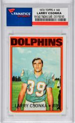 CSONKA, LARRY (1972 TOPPS # 140) CARD - Mounted Memories