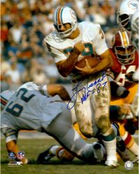 Larry Csonka Miami Dolphins Fanatics Authentic Autographed 16'' x 20'' Run Ball Photograph with HOF inscription
