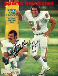 Larry Csonka & Jim Kiick Miami Dolphins Autographed Dynamic Duo Sports Illustrated - Mounted Memories