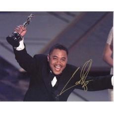 Cuba Gooding, Jr. Autographed Oscar Winning Moment 8x10 Photo