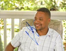 Cuba Gooding Jr. Autographed Signed Porch Photo