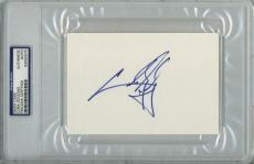 Cuba Gooding Jr Signed 4x6 Index Card Autographed Psa/dna Slabbed